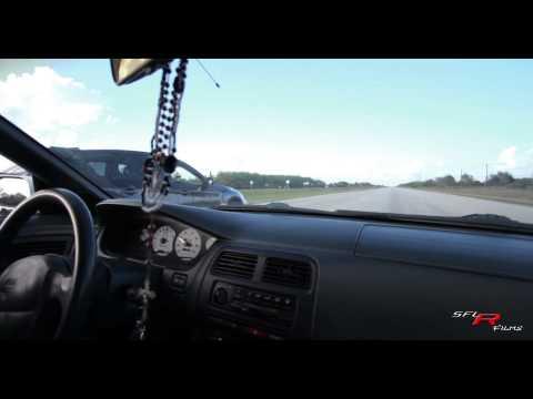 1JZ Powered 240SX S14 VS Subaru STI 40Roll