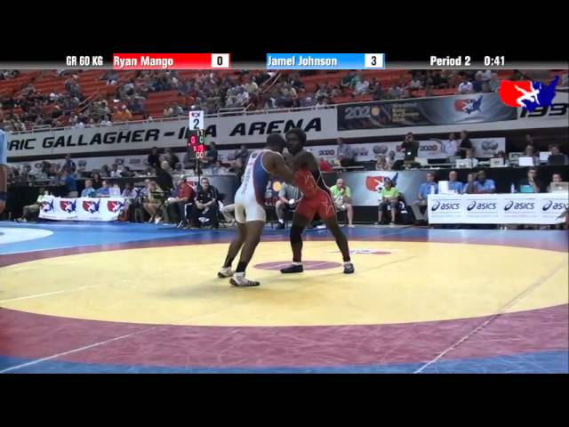 Ryan Mango vs. Jamel Johnson