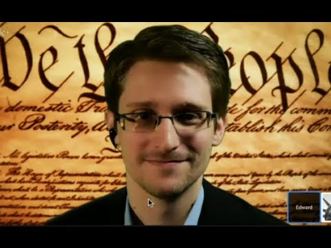 Snowden's first live: 'Constitution being violated on massive scale' (FULL VIDEO)
