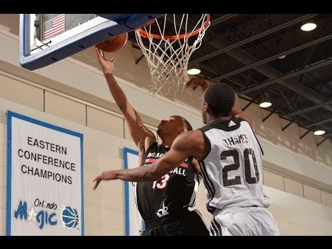 NBA Summer League: Miami Heat vs Brooklyn Nets Recap
