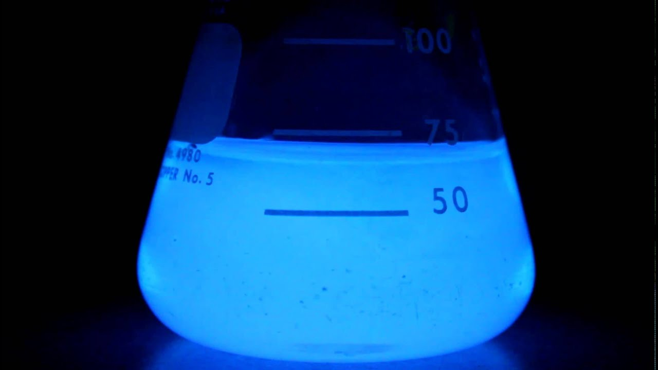 synthesis and chemiluminescence of luminol Abstract: chemiluminescence occurs in nature and can be found in everyday products for example, the light omitted by fireflies, deep sea fish and glow sticks is a.