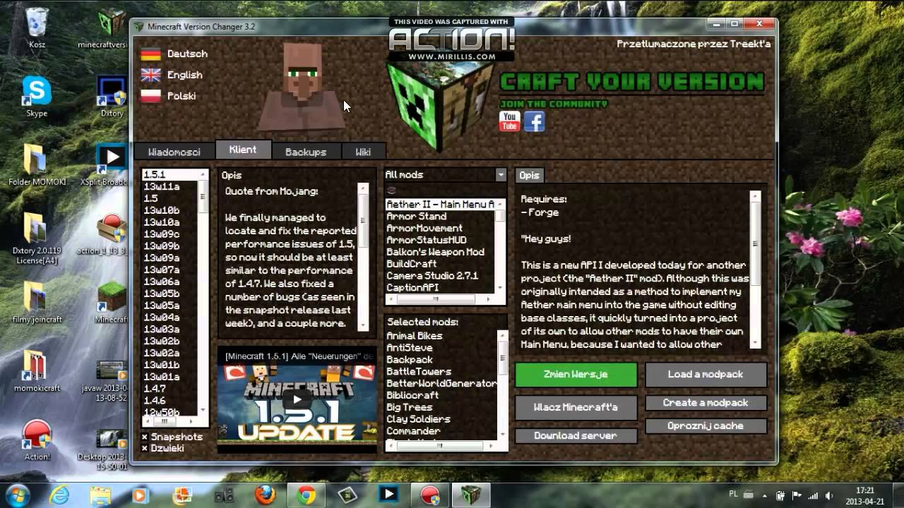 minecraft download free handy