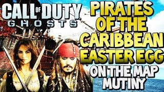"COD GHOSTS ""PIRATES OF THE CARIBBEAN"" Movie Easter Egg On"