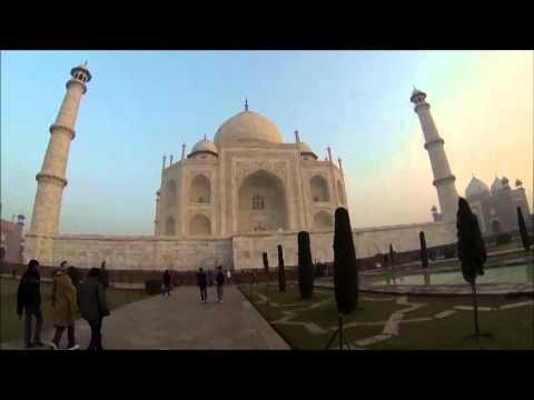 VideoClip da minha Visita ao Taj Mahal, Nov/13