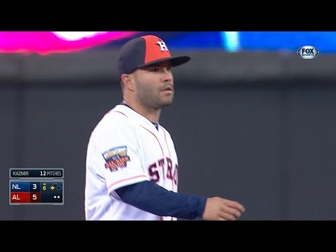 2014 ASG: Altuve makes a nice stop, fires on the run
