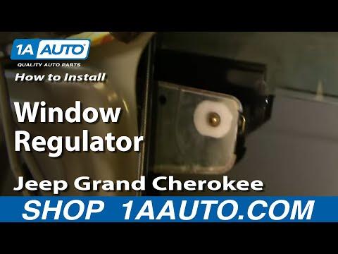 Auto Repair: Install Repair Window Regulator Jeep Grand Cherokee 1999-04 - 1AAuto.com
