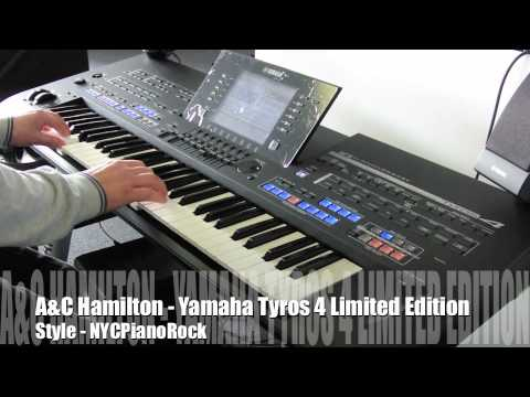 yamaha tyros 4 10th anniversary limited edition demo nyc. Black Bedroom Furniture Sets. Home Design Ideas