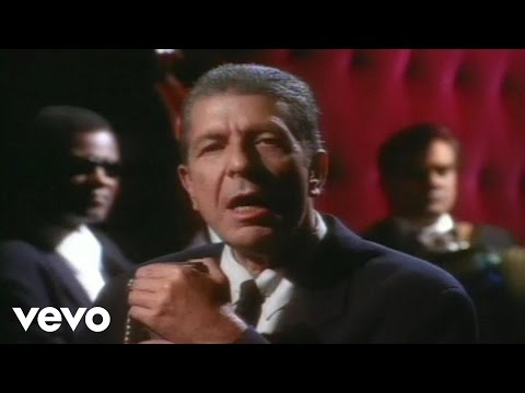 Dance Me to the End of Love - Leonard Cohen (1984)