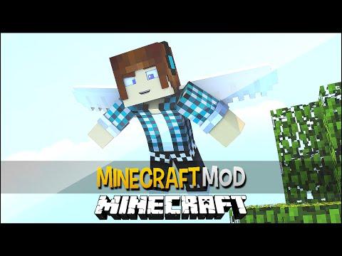 Minecraft Mod: Tenha Asas de Anjo !! - Simple Flight Mod