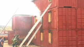 Ground Ladders At Fire Department Training Network