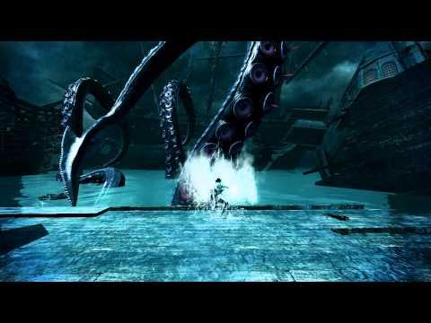 瑪奇英雄傳 克拉肯(章魚)前觸手攻擊展示