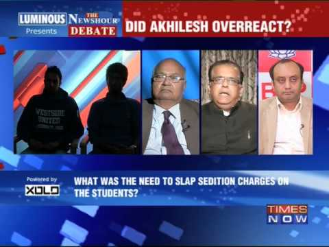The Newshour  Debate: Gone too far? - Part 2 (6th March 2014)
