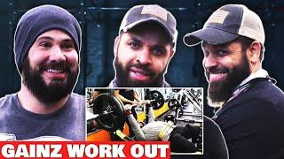 Crowder & Hodgetwins Gym Workout
