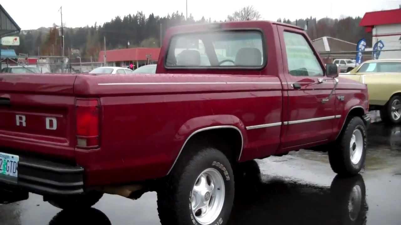 1992 ford ranger custom 4x4 sold