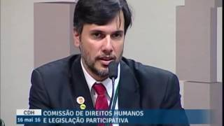 Vídeo da Semana - SINDIPOL/DF participa de audiência pública no Senado que debate a retomada do crescimento econômico