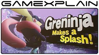 Greninja & Charizard Trailer For Super Smash Bros. Wii U