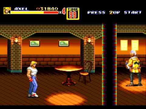 Street Of Rage 2 (Pelea Callejera) Gameplay