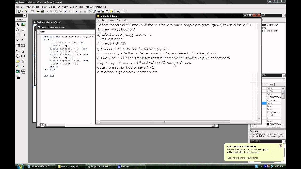 Free visual basic game code