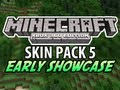 Minecraft (Xbox 360) - Skin Pack 5 EARLY SHOWCASE (All 45 Skins Revealed)