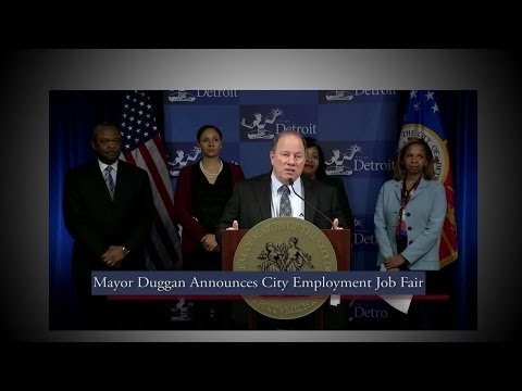Mayor Mike Duggan Launches HIRE DETROIT! Jobs Fair