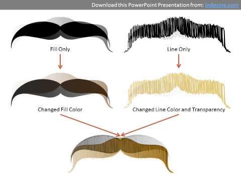 Fu Manchu Mustache Clip Art Movember moustaches clip arts