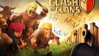 Clash Of Clans Comment Faire Un Bon Village Farming Hdv