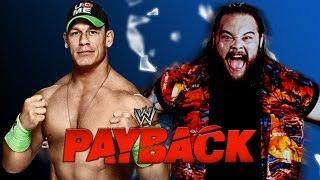 WWE Payback 2014 John Cena Vs Bray Wyatt (Last Man