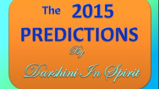 2015 WORLD PREDICTIONS: Extreme Weather&Snow, TORNADO'S