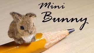 Miniature Baby Bunny Polymer Clay Tutorial