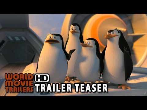 OS PINGUINS DE MADACASGAR - Trailer Teaser Oficial (2015) HD