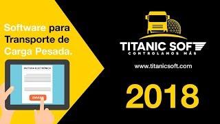 Titanic Soft - Software para transporte de carga pesada.