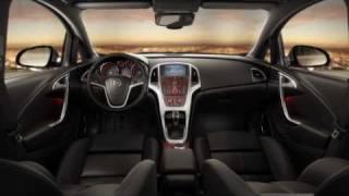 Yeni Opel Astra J - iç görünüm