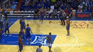 Dunks & Scrimmage Late Night in the Phog 2014 Kansas Jayhawks