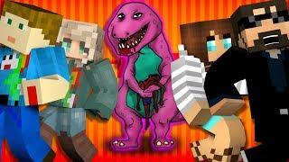 Minecraft: BARNEY MURDER   MODDED MINI-GAME