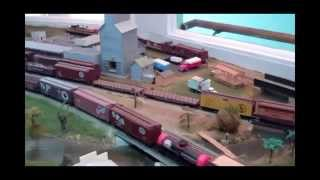 Spud Valley HO Model Railroad: Scenes & Cab Rides