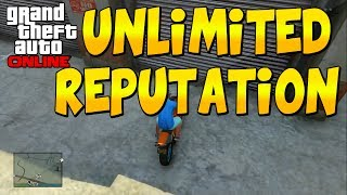 GTA 5 ONLINE: UNLIMITED SOLO REPUTATION GLITCH 150K/HR
