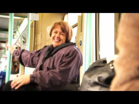 Come on Board. Baroness Grey-Thompson road-tests TfL
