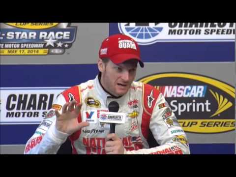 Dale Earnhardt Jr CMS Sprint All-Srar Interview NASCAR Video