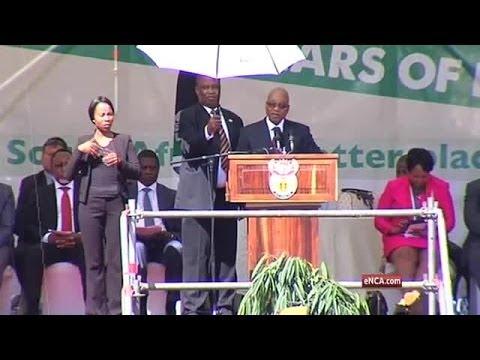 Zuma speaks on our democracy