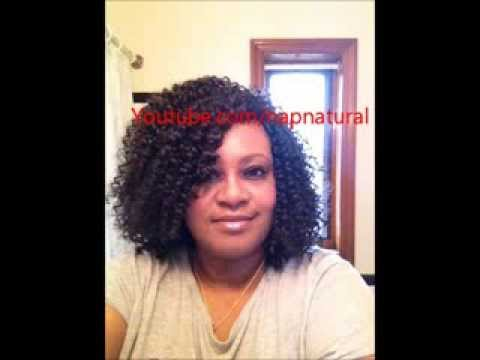 Crochet Braid Wig Tutorial - YouTube