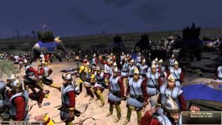 Total War: Rome 2 - 300 War Elephants Under Missile Fire