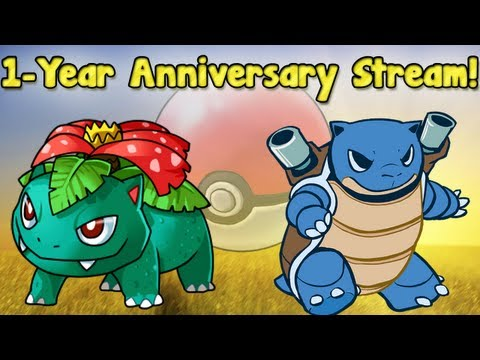 Pokémon Blue/Green Versus - 1-Year Anniversary Stream with SilverSleet