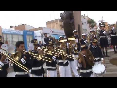 Retreta de Banda Escolar JORGE CHAVEZ, Marcha,