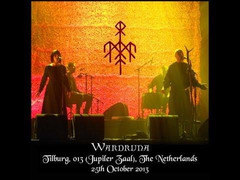 Wardruna 2013-10-25 - Tilburg, 013 (Jupiler Zaal), Netherlands -small part of the show
