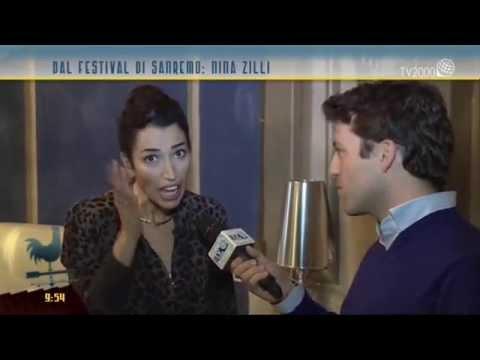 Sanremo 2015, intervista a Nina Zilli
