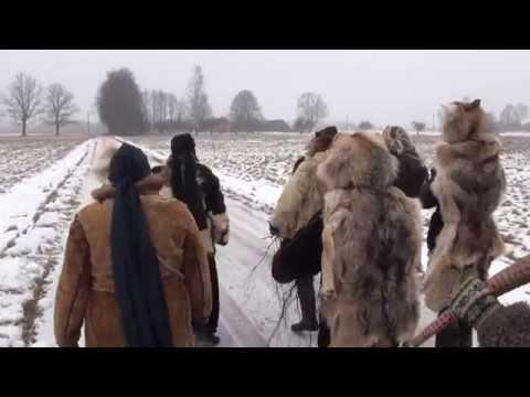 XVI Starptautiskais Masku Tradīciju Festivāls, 2015. Miežvilku masku grupa.