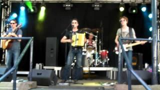 Dwayne Verheyden  & Band . Grubbenvorst Limburg  . juni - 8 - 2014 .