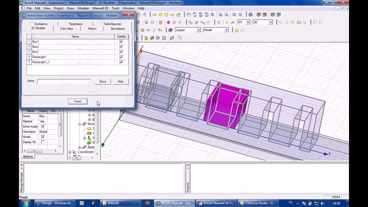 Ansoft maxwell 3d linear induction motor part2 youtube for Linear induction motor design