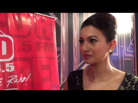Gauhar Khan at 7th Boroplus Gold Awards, Powered by Elle 18