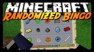 Minecraft: RANDOMIZED BINGO! - Made by Lorgon111!